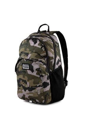 Puma Unisex Hak, Kamuflaj Academy Backpack Sırt Çantası 077301-04