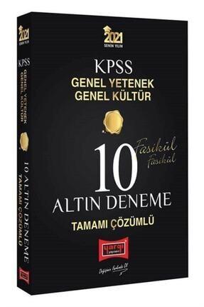 Yargı Yayınevi Kpss Gygk Tamamı Çözümlü 10 Altın Fasikül Deneme