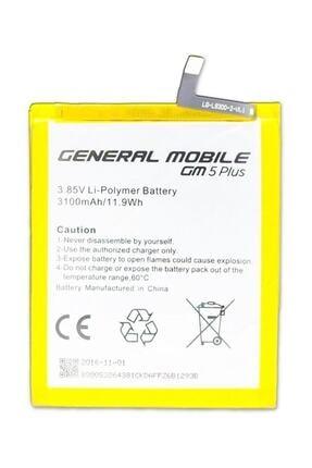 General Mobile Discovery GM5 Plus Batarya Pil A++ Lityum İyon Pil