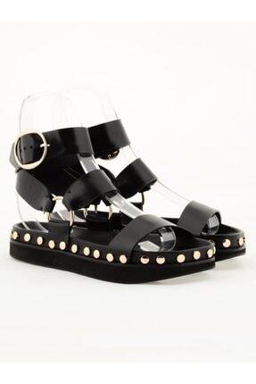 Nursace Hakiki Deri Sandalet Nsc19y-a64001