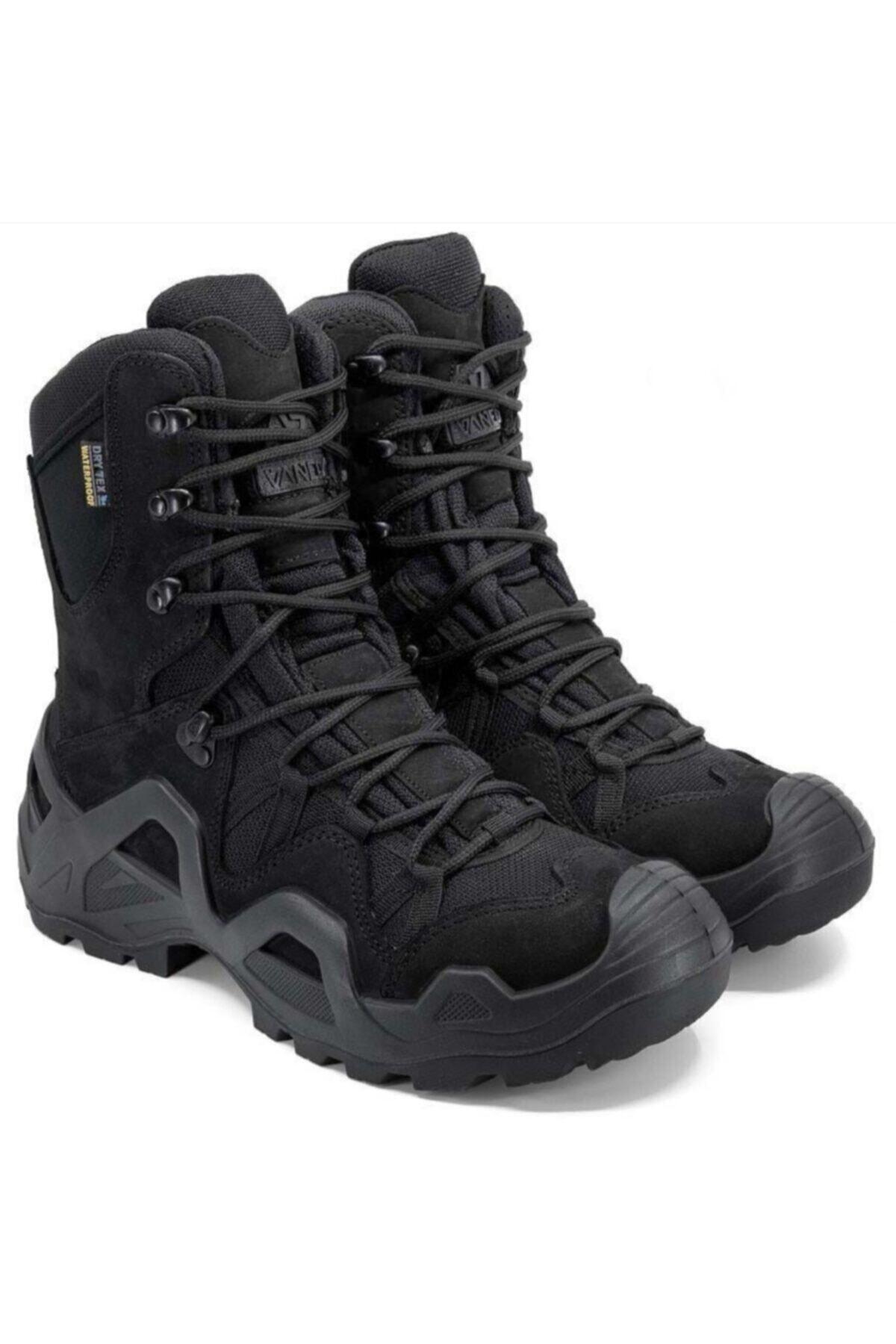 Silyon Askeri Giyim Unisex Siyah Vaneda Askeri Tip Bot 2