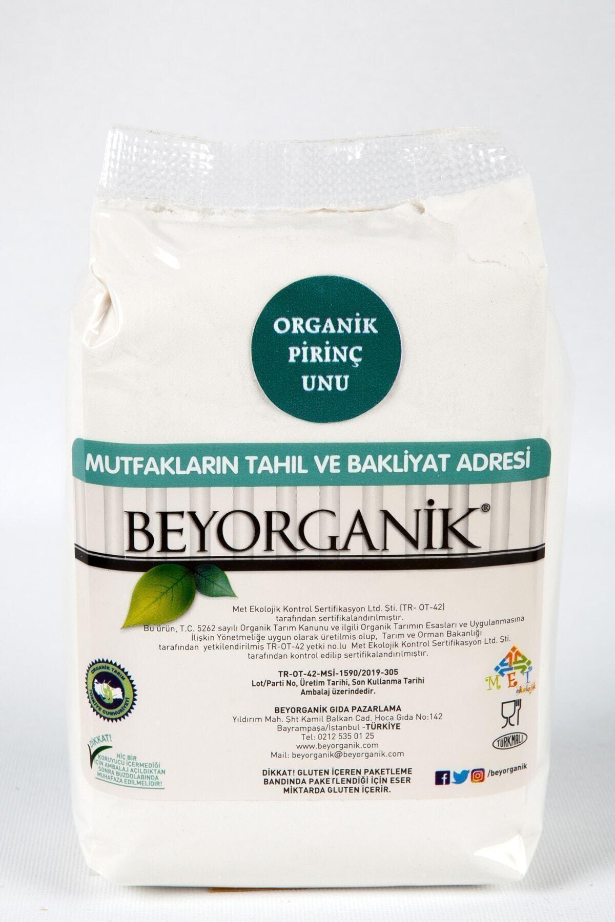 BEYORGANİK Organik Pirinç Unu 500 gr 1