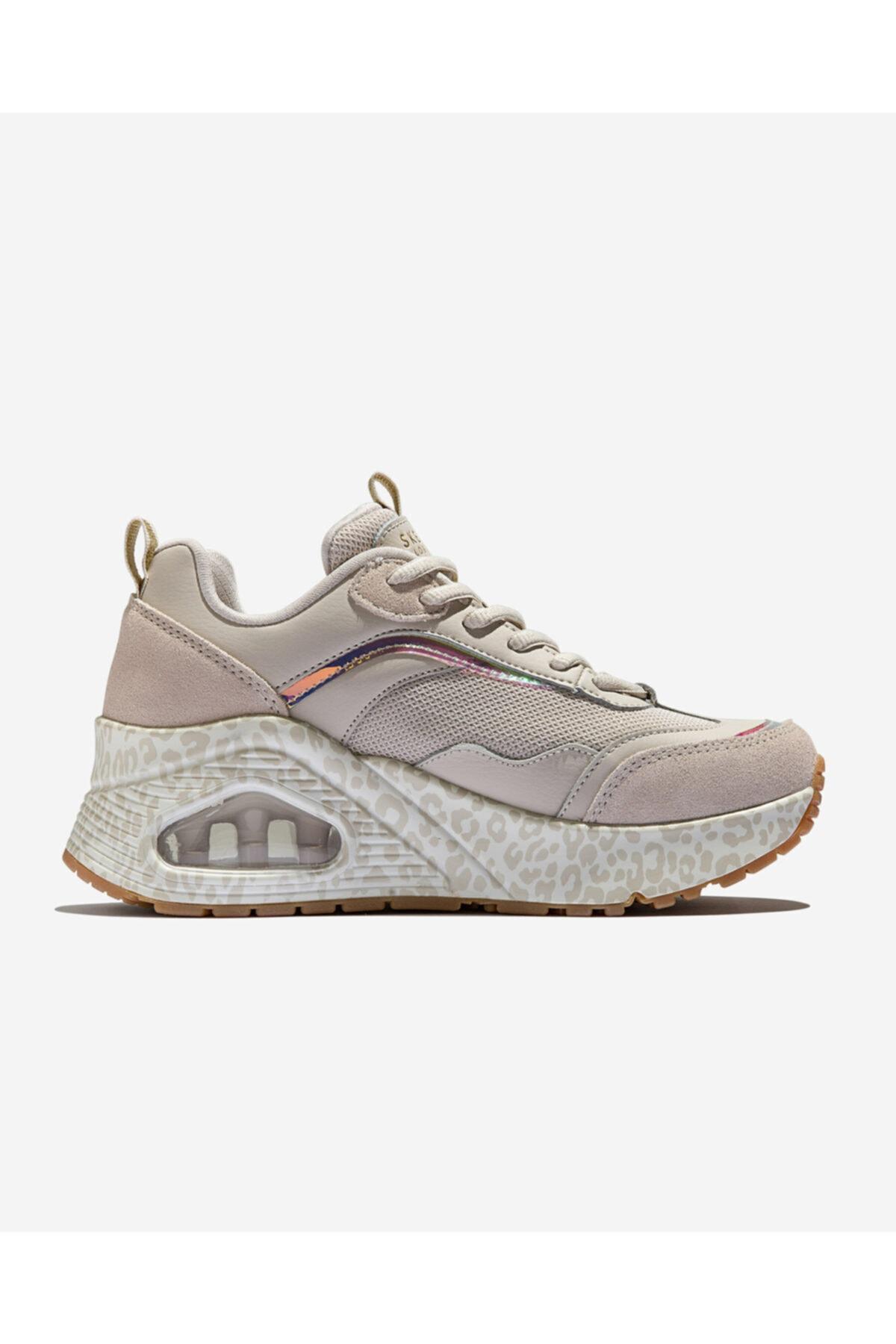SKECHERS UNO HI INCATNITO Kadın Beyaz Spor Ayakkabı 2