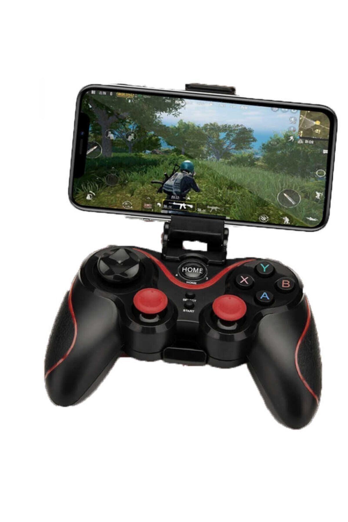 BLUPPLE S6 Pubg Gamer Bluetooth Oyun Konsolu Mobil Oyun Kolu Siyah Renk 1