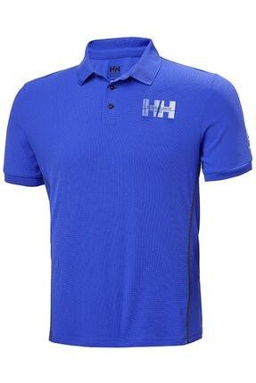 Helly Hansen Erkek Mavi Polo Yaka T Shirt