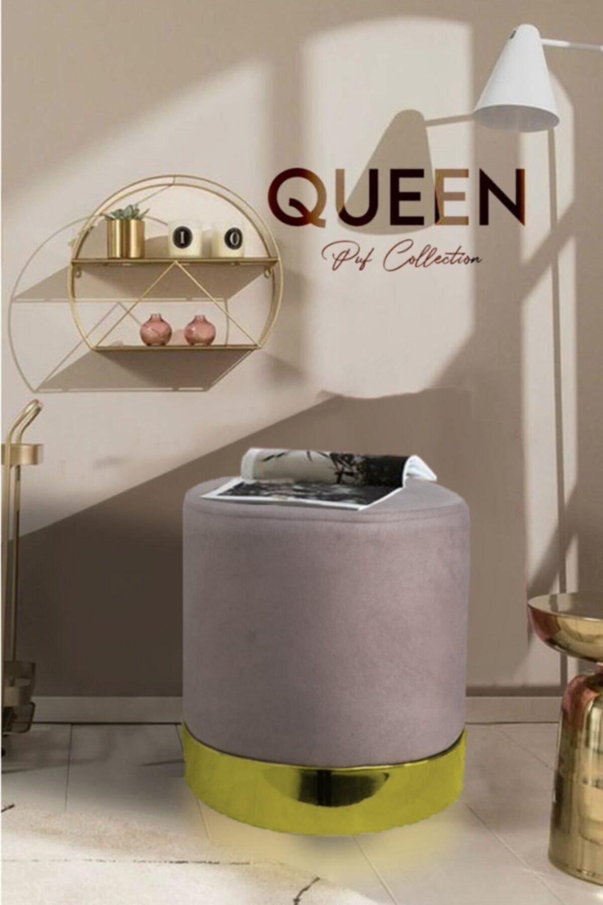 Zem Queen Plato - Gold Puf 1