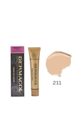 Dermacol Bej Make-up Cover 211 Fondöten