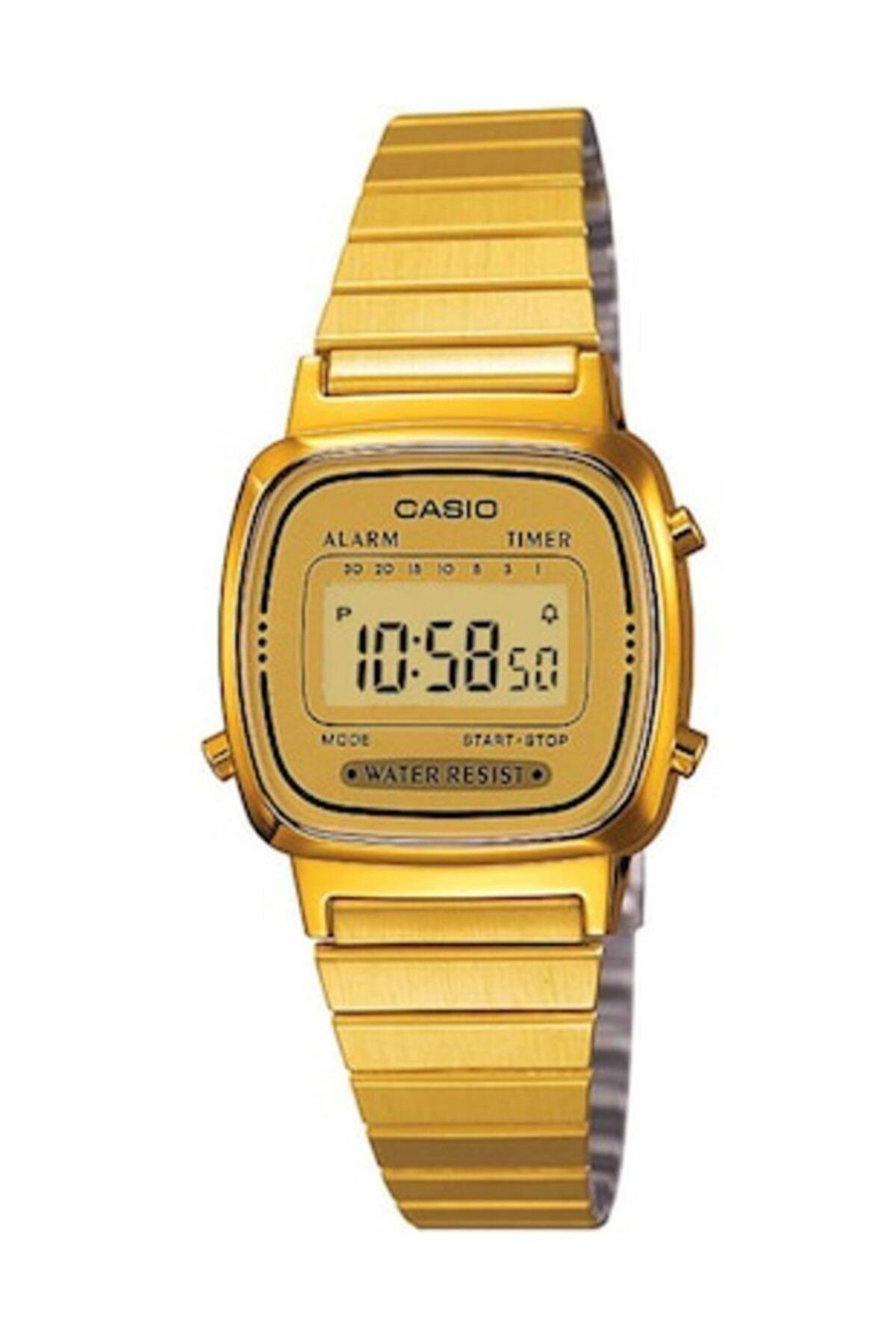 Casio Kadın Altın Kol Saati La670wga-9df 1