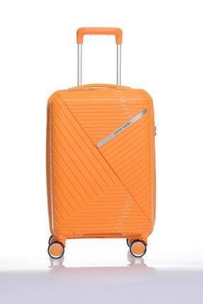 Pierre Cardin Pıerre Cardın 04pc3400-03-tr Turuncu Unısex Kabin Boy Bavul