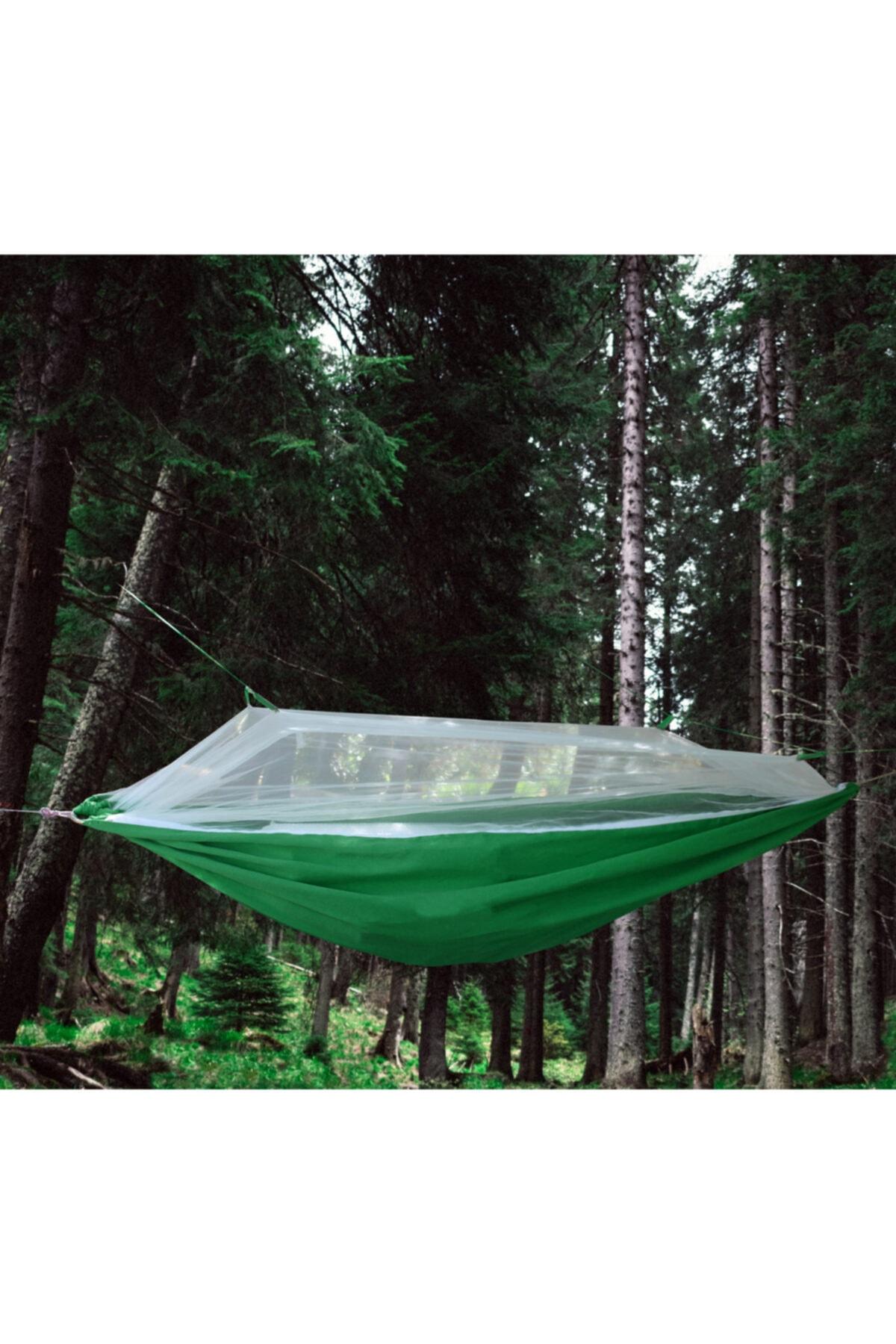 EARABUL Cibinlikli Kamp Hamağı Çantalı - Taşınabilir Sivrisinek Koruyuculu Kamp Hamağı 1