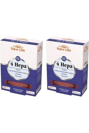 New Life 4 Hepa 30 Yumuşak Kapsül 2 Adet Skt:02-2023