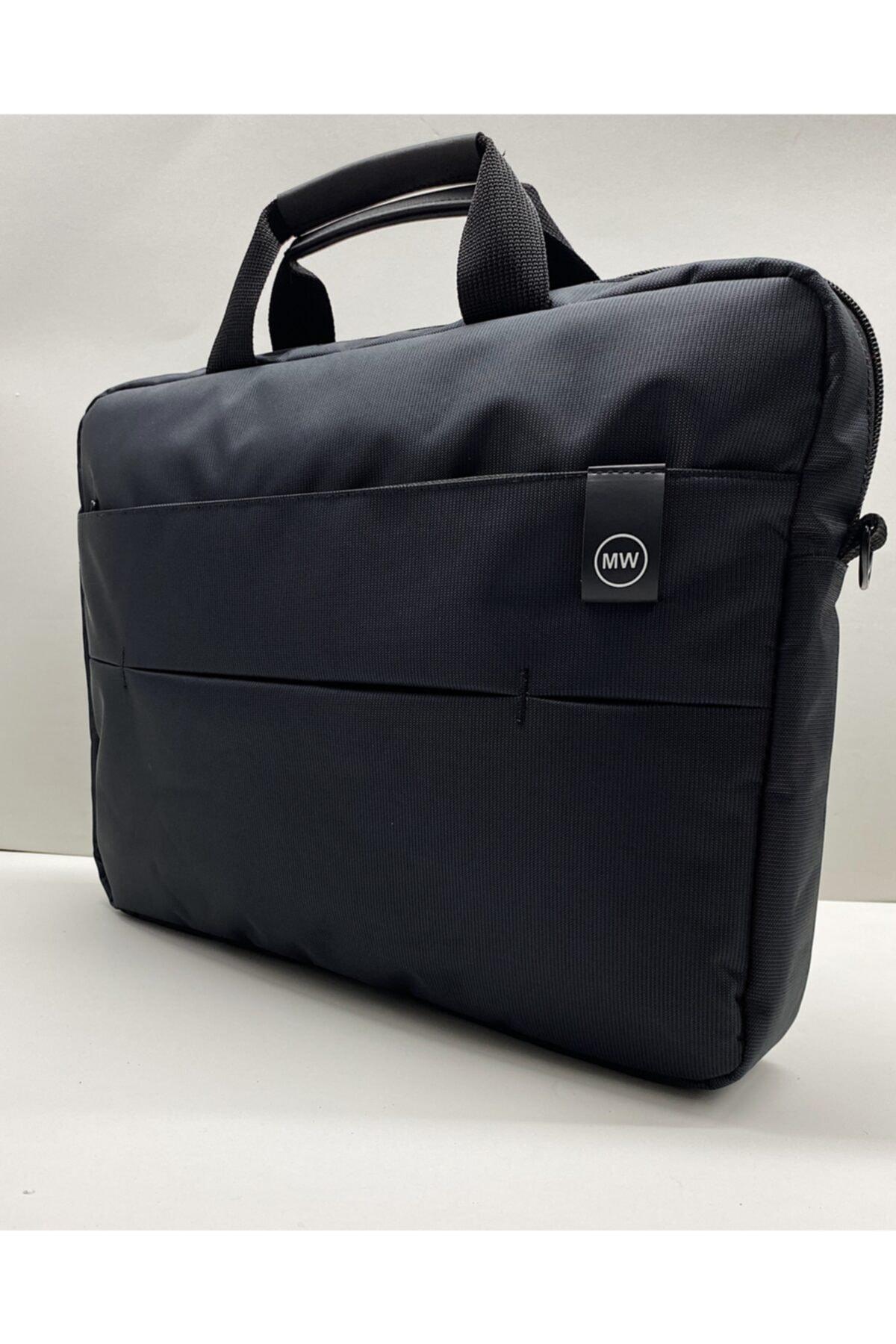 """Moda West Serisi 15.6"""" Inç Siyah Evrak Bilgisayar Notebook Laptop Çantası 2"""