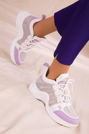 McDark Kadın Lila Beyaz Buz Sneaker