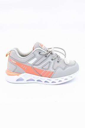 Jump Gri Somon Çocuk Spor Ayakkabı