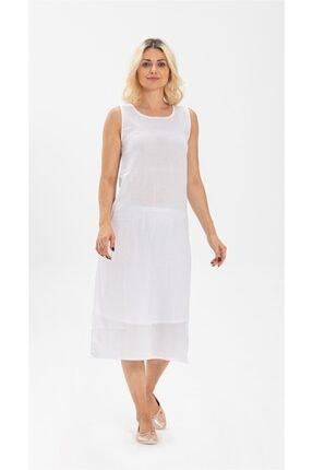 Eliş Şile Bezi Uzun Şile Bezi Elbise Astarı Beyaz