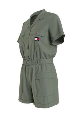 Tommy Hilfiger Kadın Yeşil Elbise DW0DW09837