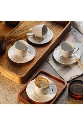 Kütahya Porselen Başak Kahve Fın.tblı 12 Ad Dekorsuz Bsk12kt00