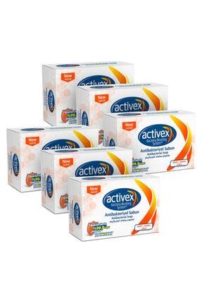 Activex Antibakteriyel Katı Sabun Aktif 6x100 Gr