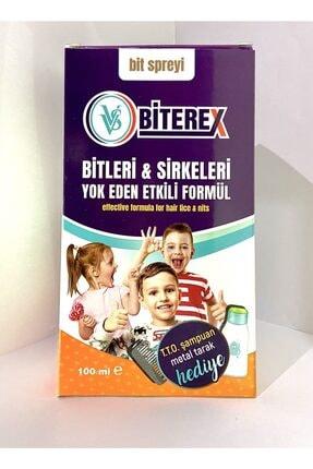 VVS Biterex Bit Spreyi 100 ml Tto Bit Şampuanı Çelik Tarak Hediyeli