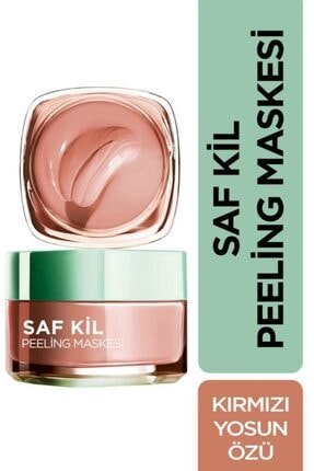 L'Oreal Paris Saf Kil Peeling Maskesi - Pure Clay 50 Ml 3600523306367