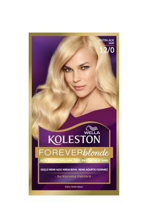 Wella Koleston Kit 12/0 Boya Çok Açık Doğal Sarı