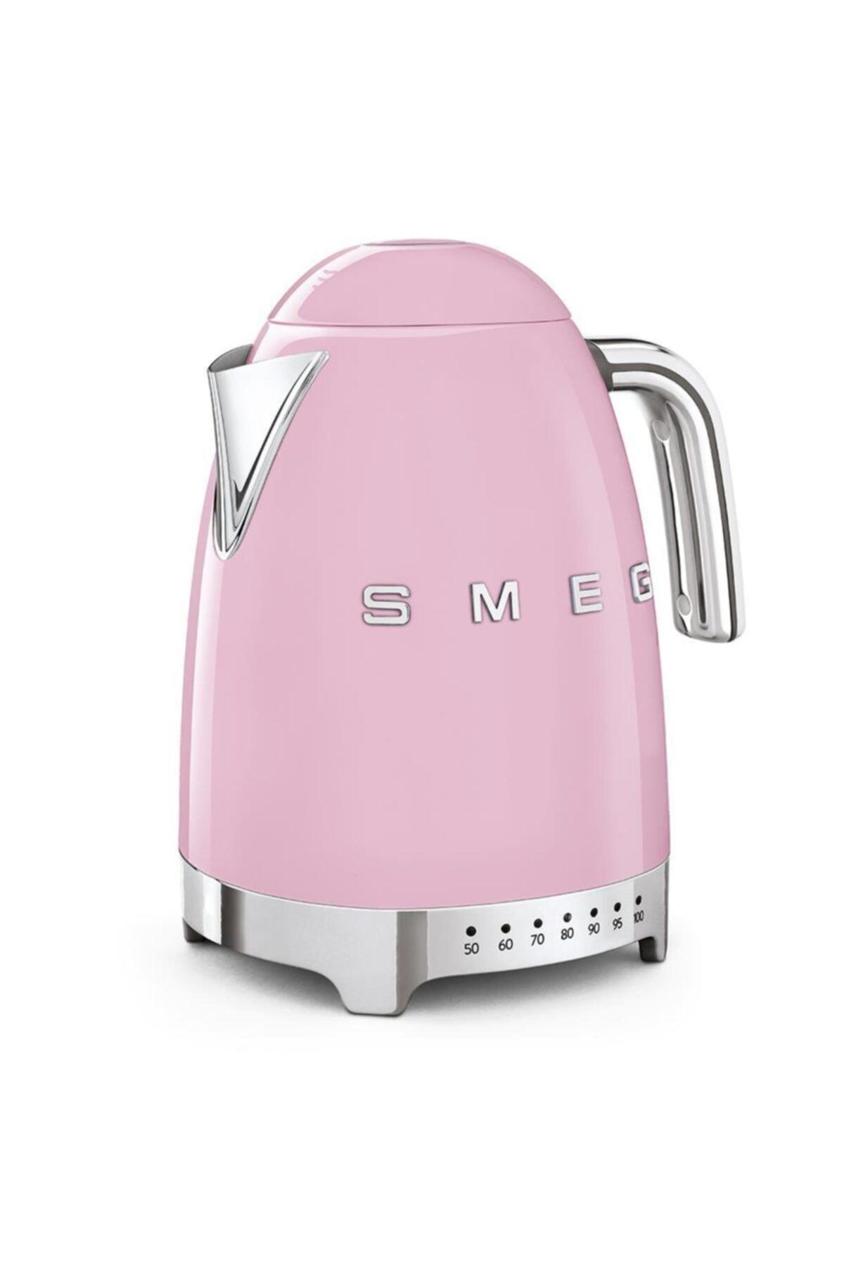 SMEG Isı Ayarlı Otomatik Sistem 50's Style Pembe Renk Su Isıtıcı Kettle Klf04pkeu 2