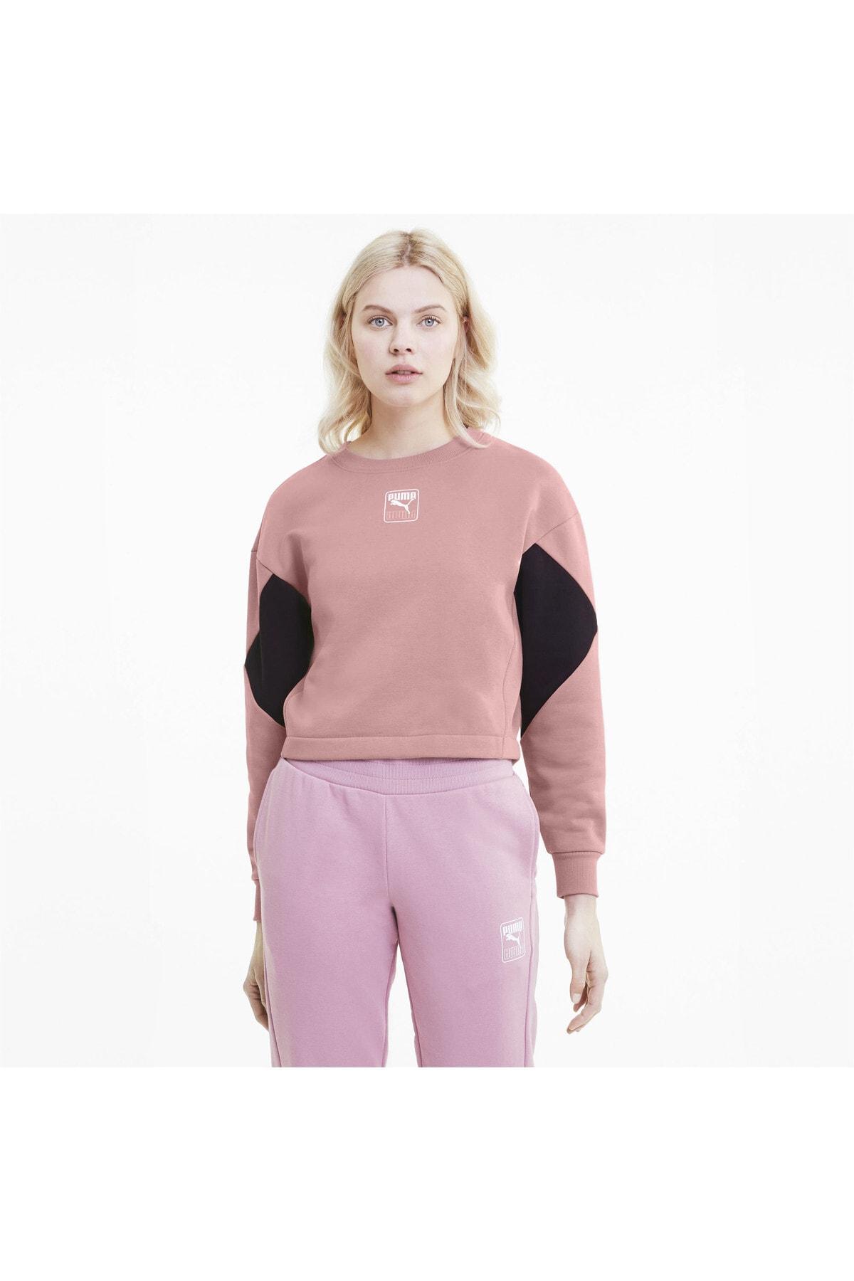 Puma Kadın Spor Sweatshirt - Rebel - 58356016
