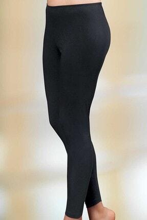 Şahinler Kadın Siyah Uzun Tayt MB886-SH