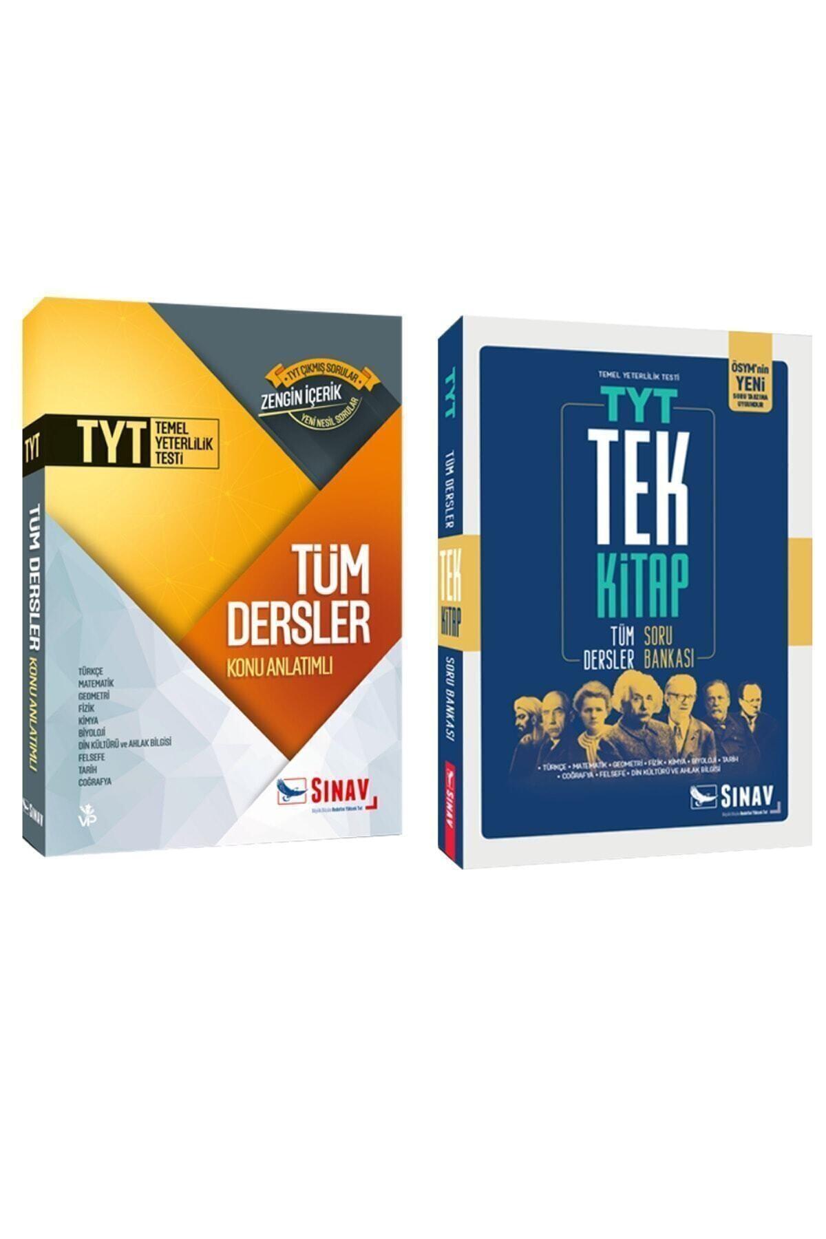 Sınav Yayınları Tyt Tüm Dersler Konu Anlatımı ve Soru Bankası Tek Kitap 1