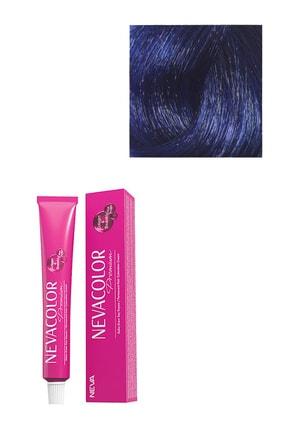 Neva Color Premium Kalıcı Yoğun Mavi Saç Boyası 0.11