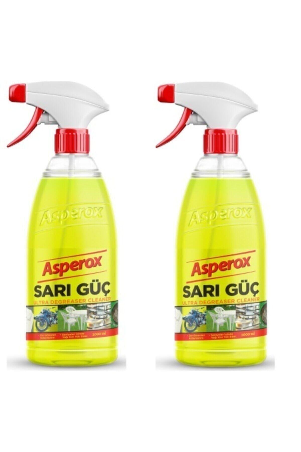 ASPEROX Sarı Güç Sprey 1000 ml X 2'li 1