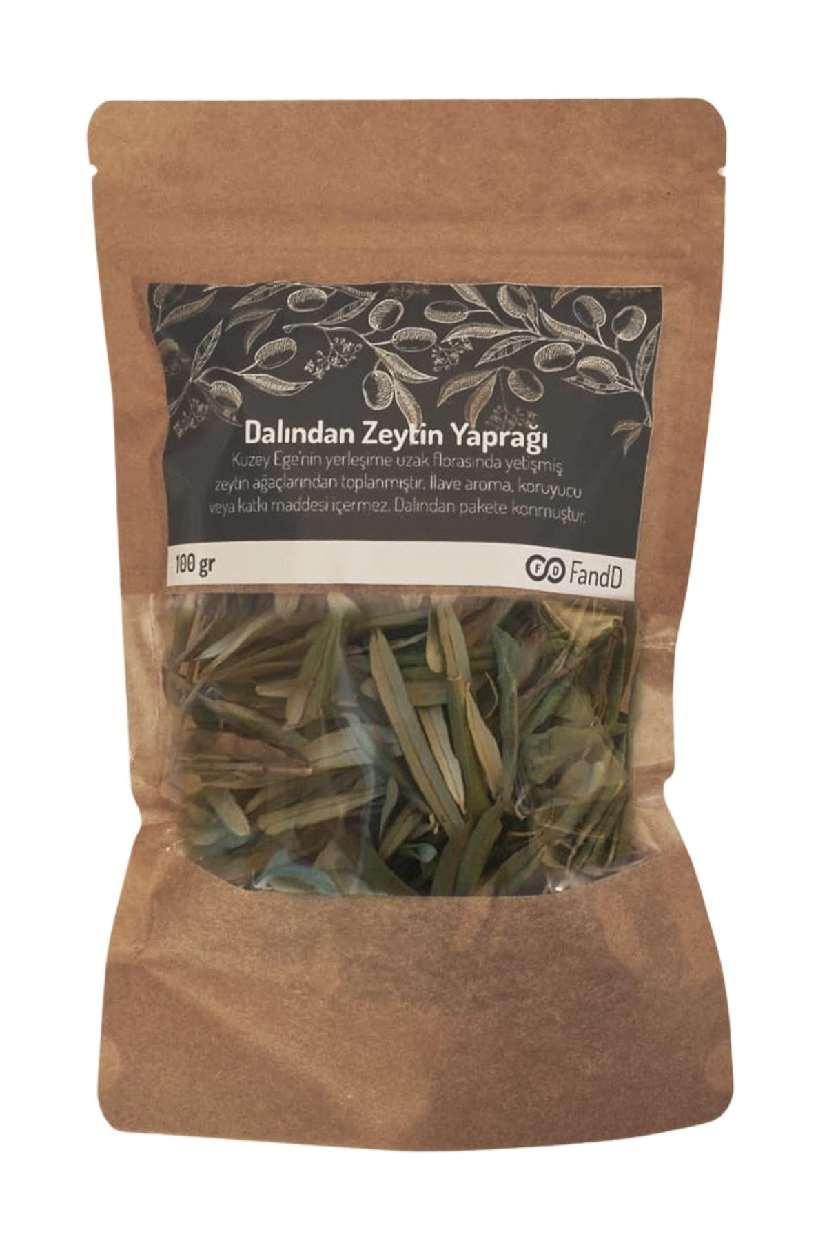 FandD Dalından Zeytin Yaprağı 100gr (çay Olarak Kullanılabilir) 1