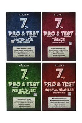 Bilfen Yayıncılık 7. Sınıf Pro & Test Soru Bankası Seti 4 Kitap