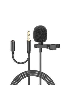 Snopy Sn-mtk25 Siyah Akıllı Telefon, Tik-tok Ve Youtuber Metal Mandallı Yaka Mikrofonu