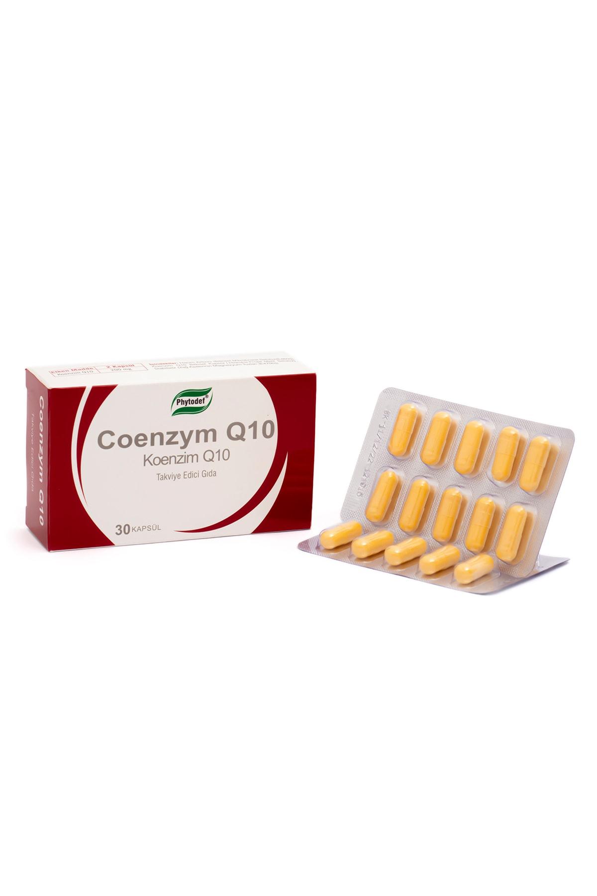Phytodef Coenzym Q10 - 30 Kapsül 2
