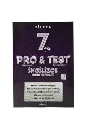 Bilfen Yayıncılık 7. Sınıf Pro & Test Ingilizce Soru Bankası
