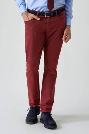 Hemington Erkek Bordo Slim Fit 5 Cep Pantolon