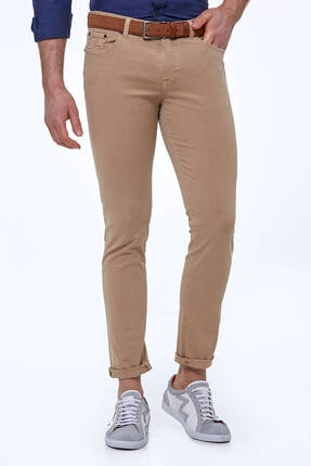Hemington Erkek Camel Yazlık Pantolon