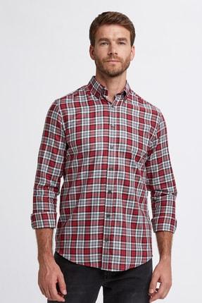 Hemington Erkek Kırmızı Pamuk Gömlek