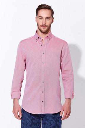 Hemington Erkek Pembe Yazlık Oxford Gömlek