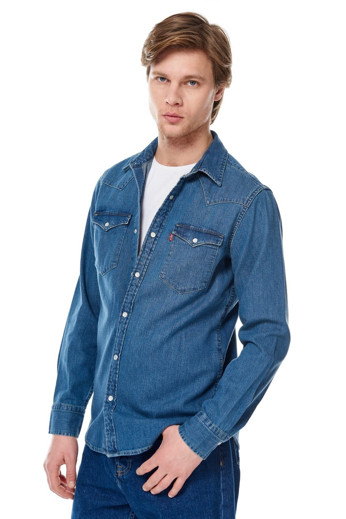 Levi's Erkek Classic Western Sweatshirt 85745-0001 2