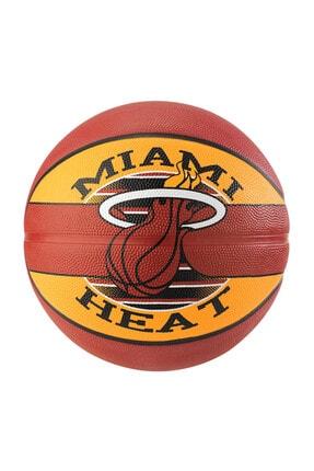 SPALDING Nba Miami Heat Sz7 Basket Topu - 9637