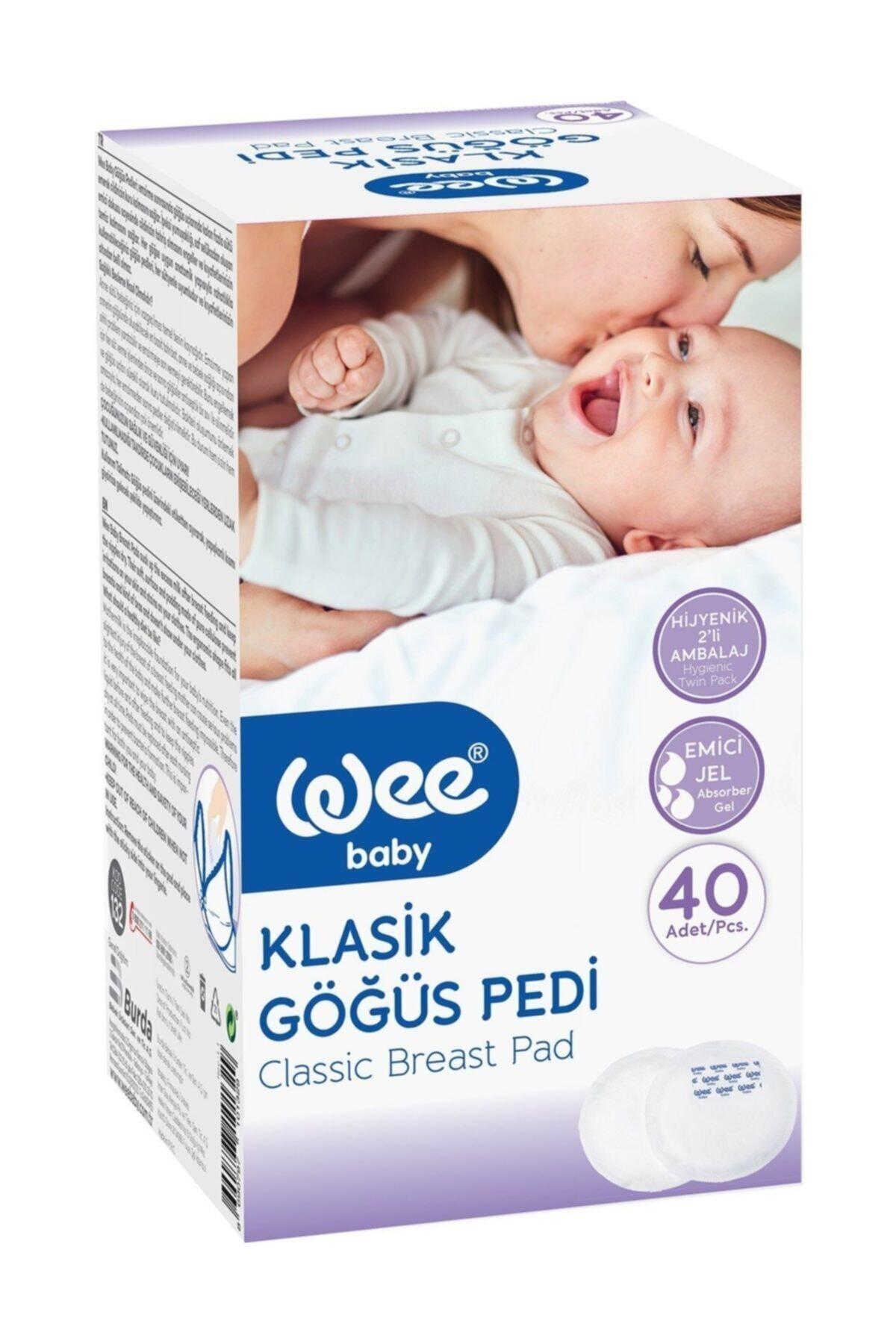 Wee Baby Klasik Göğüs Pedi 40'lı 1