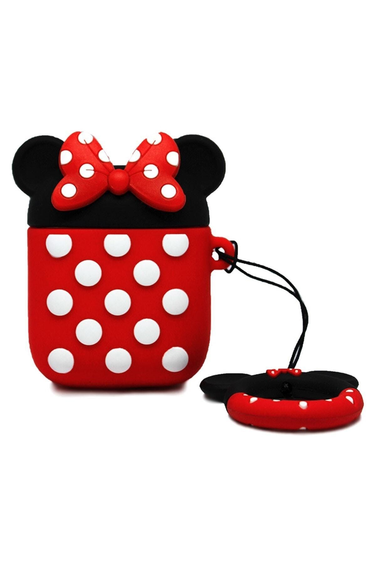 Miyosa Airpods 1 2 Uyumlu Minnie Mouse Kılıfı 1