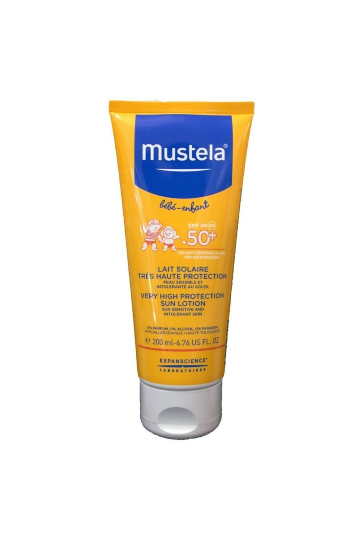 Mustela Very High Protection Sun Lotion Güneş Kremi Spf50+ 200 ml 1