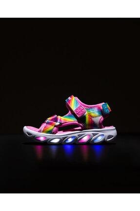 SKECHERS HYPNO-SPLASH-RAINBOW LIGHTS Küçük Kız Çocuk Çok Renkli Sandalet