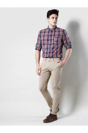 Colin's Slim Fit Orta Bel Düz Paça Erkek Bej Pantolon