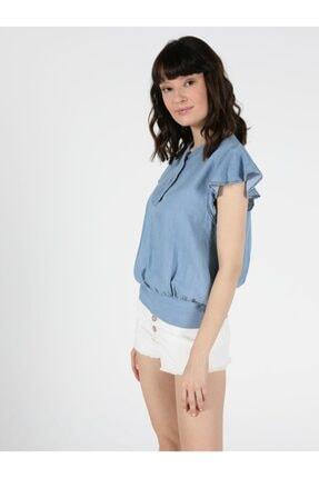 Colin's Regular Fit Bebe Kadın Kısa Kol Gömlek