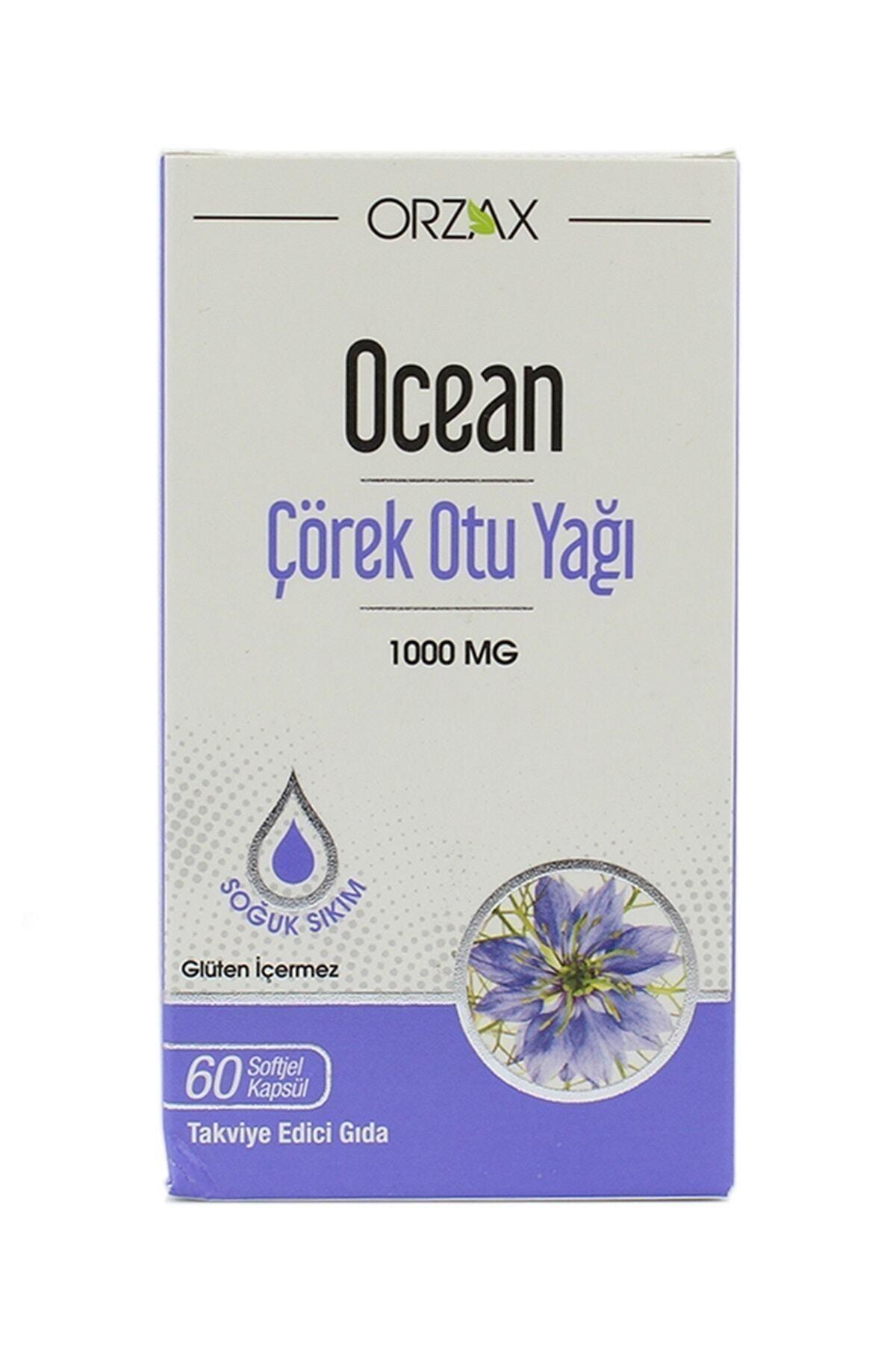 Ocean Çörek Otu Yağı 60 Kapsül 1
