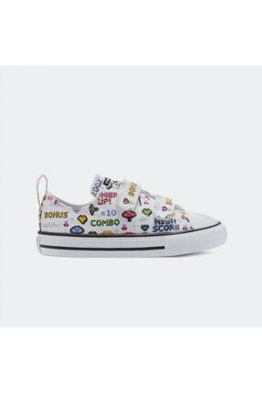 converse Kız Çocuk Beyaz Ayakkabı